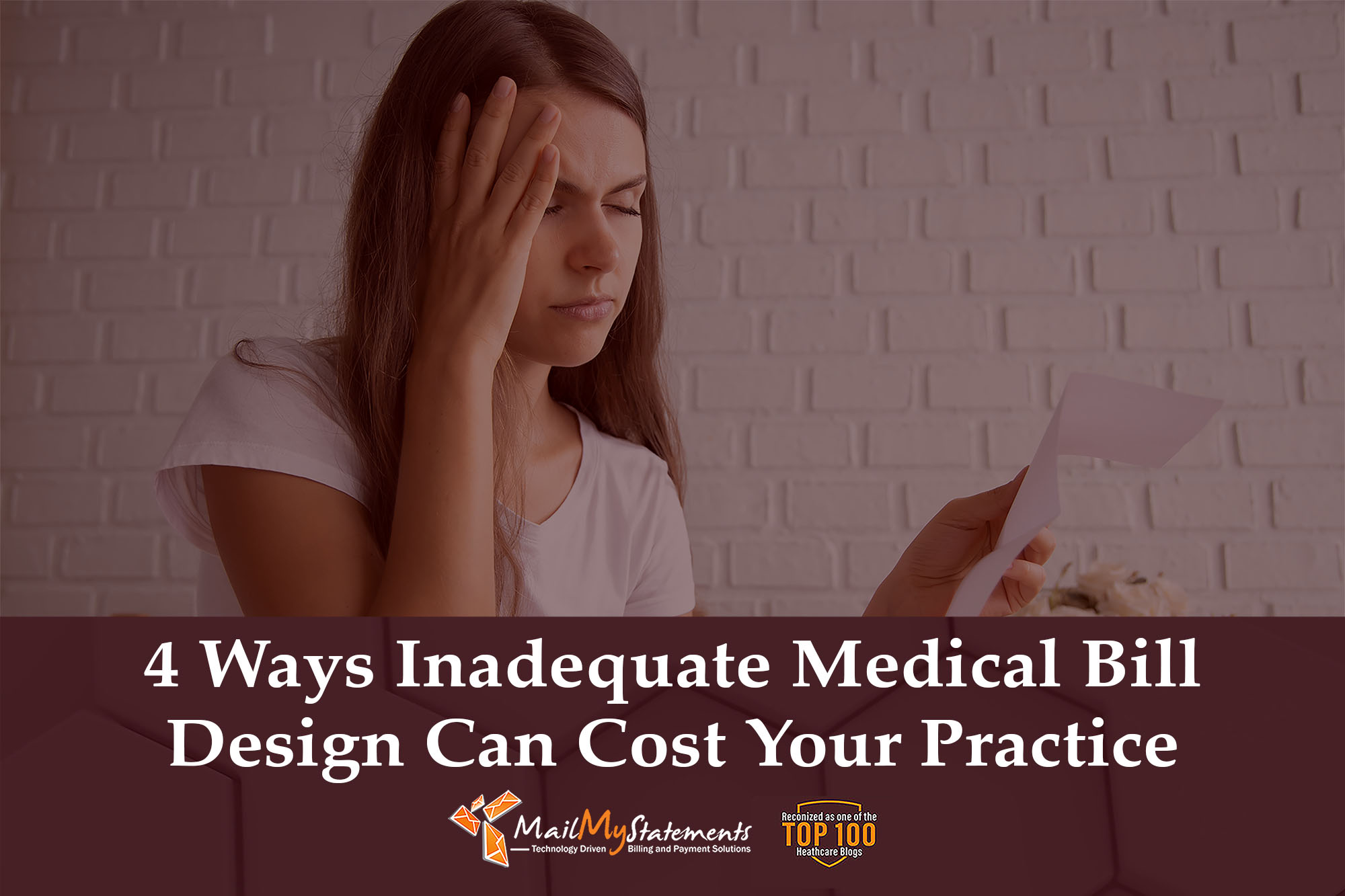 4 Ways Inadequate Medical Bill Design Can Cost Your Practice