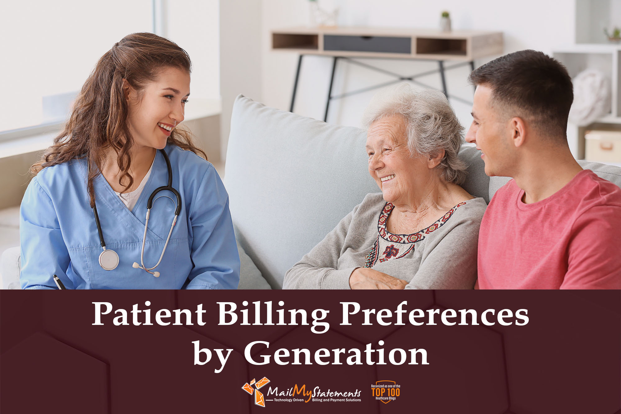 Patient Billing Preferences by Generation
